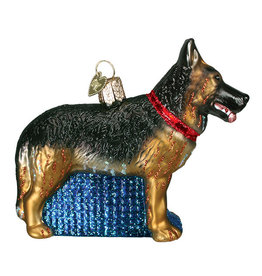 Old World Christmas German Shepherd