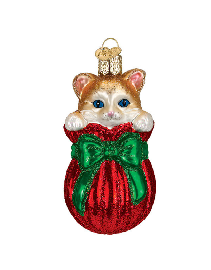 Old World Christmas Letting the Cat Out of the Bag