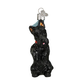 Old Wolrd Christmas Scottish Terrier