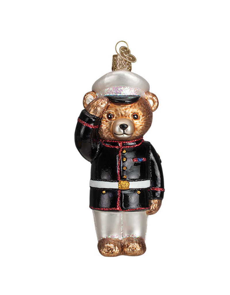 Old Wolrd Christmas Marine Bear