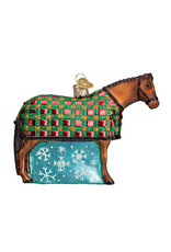 Old World Christmas Snowflake Horse