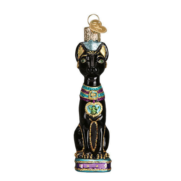 Old World Christmas Egyptian Cat
