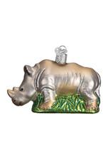Old World Christmas Rhinoceros