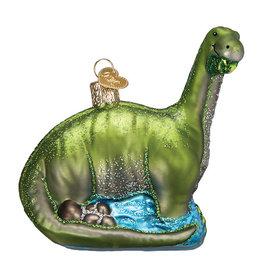 Old World Christmas Brontosaurus