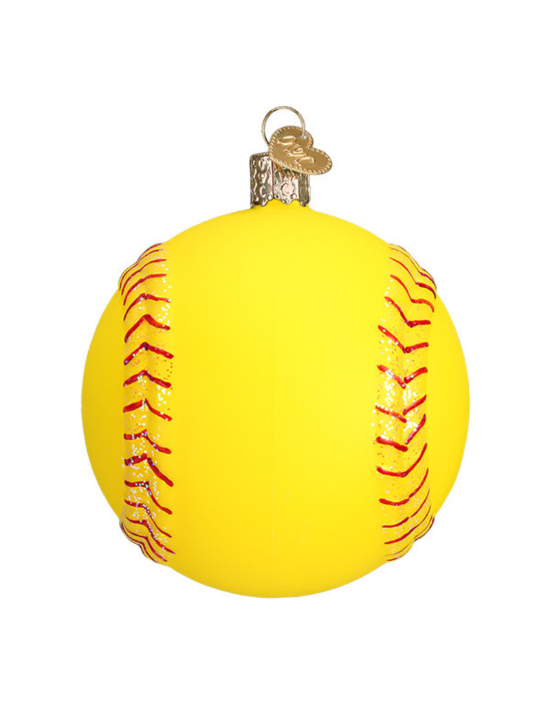 Old World Christmas Softball
