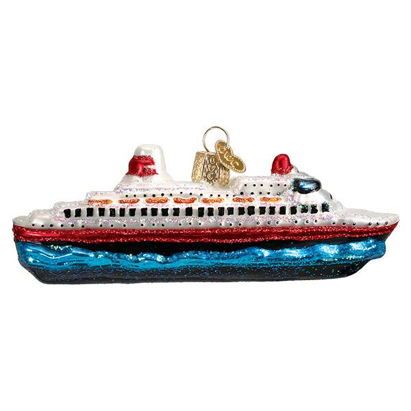 Old World Christmas Cruise Ship