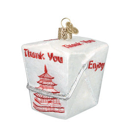 Old World Christmas Chinese Take Out