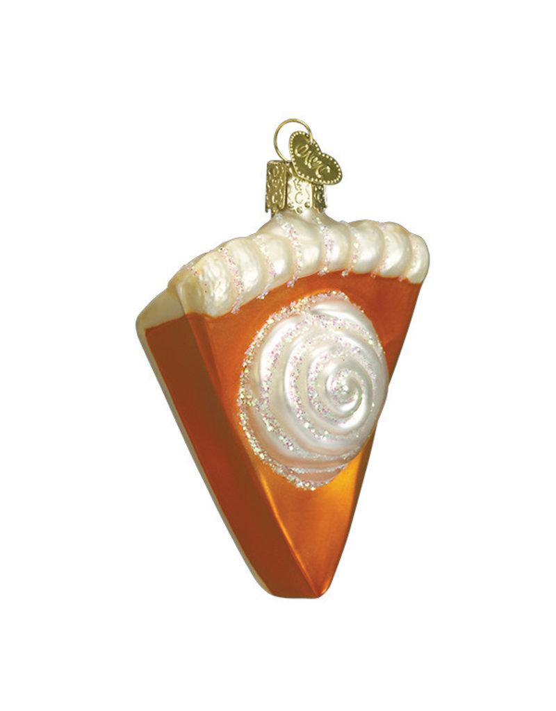 Old World Christmas Piece of Pumpkin Pie