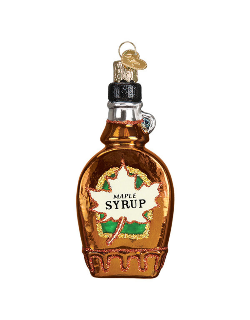 Old World Christmas Maple Syrup