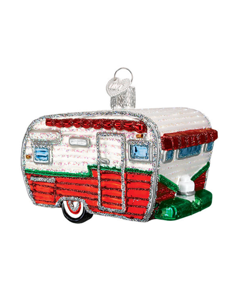 Old World Christmas Travel Trailer