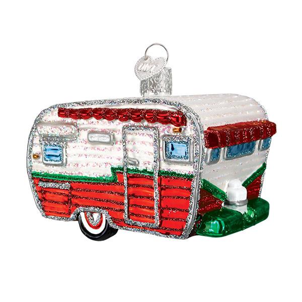 Old World Christmas Travel Trailer