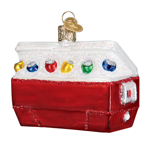 Old World Christmas Ice Chest