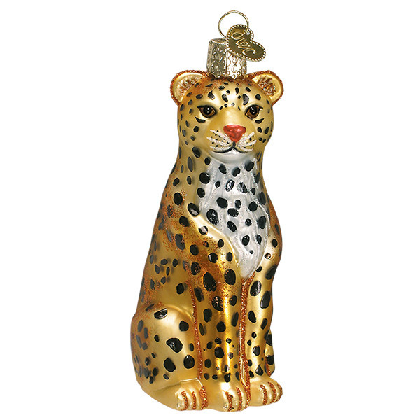 Old World Christmas Leopard