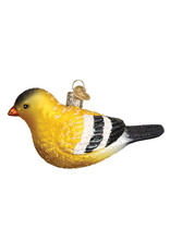 Old World Christmas American Goldfinch