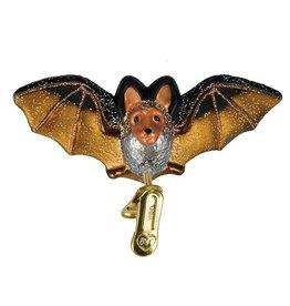 Old World Christmas Clip On Bat