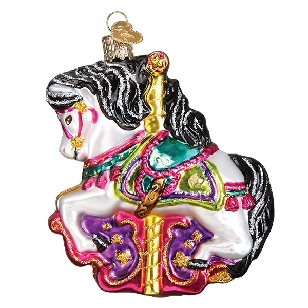 Old World Christmas Carousel Horse