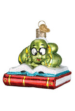 Old World Christmas Bookworm
