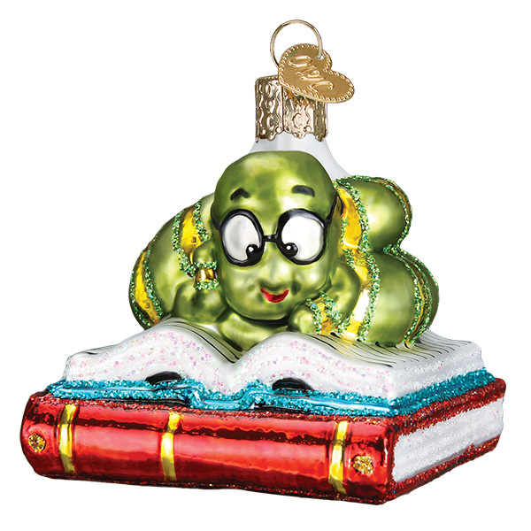 Old World Christmas Bookworm