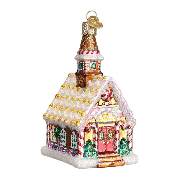 Old World Christmas Gingerbread Church