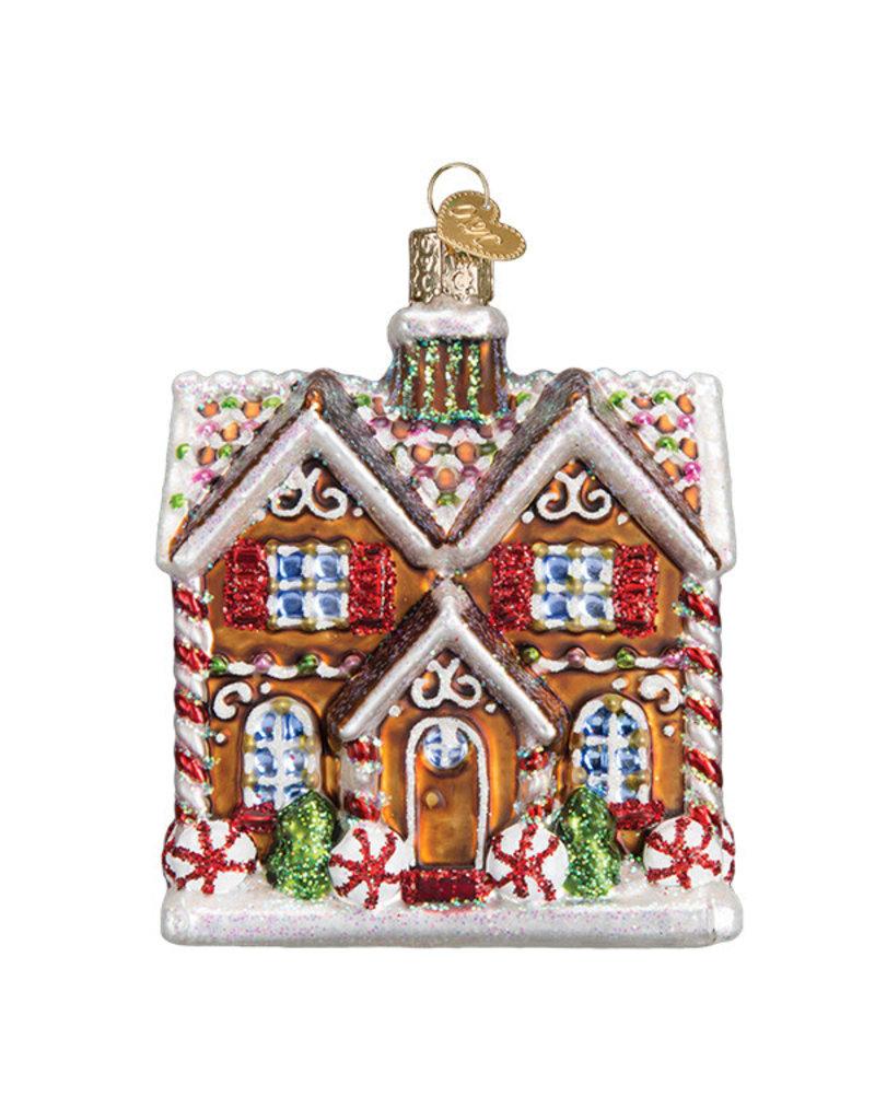 Old World Christmas Chritmastime Cottage