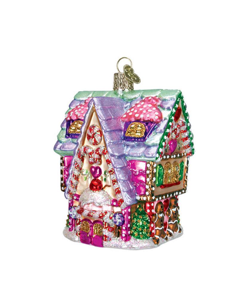 Old World Christmas Cupcake Cottage