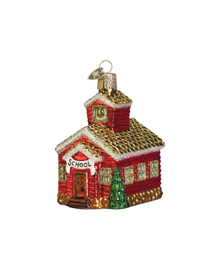 Old World Christmas School House