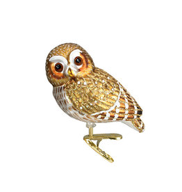 Old World Christmas Pygmy Owl