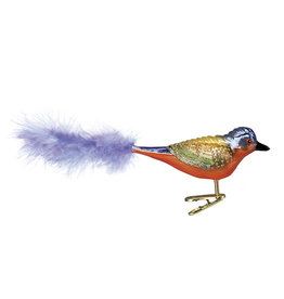 Old World Christmas Painted Bunting