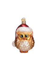 Old World Christmas Santa Owl