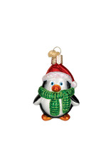 Old World Christmas Playful Penguin