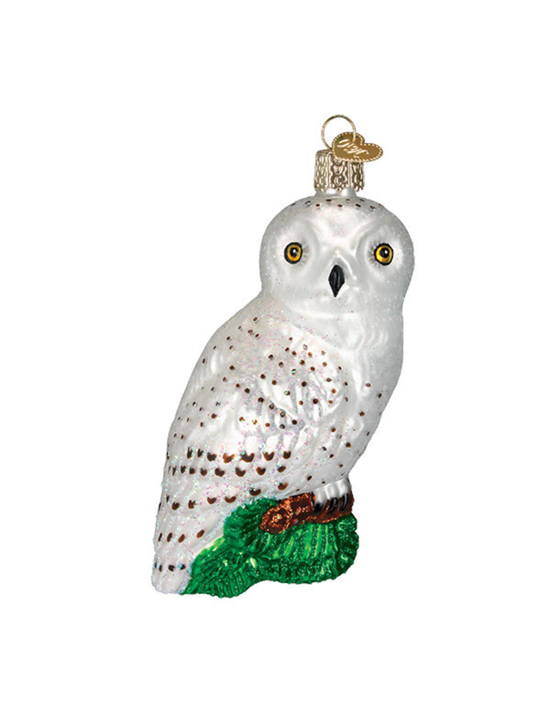 Old World Christmas Great White Owl