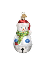 Old World Christmas Jingle Bell Snowman