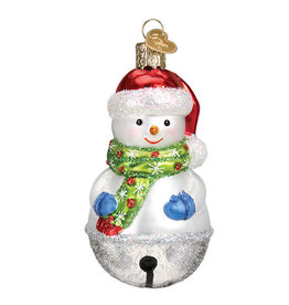 Old World Christmas Jingle Bell Snowman