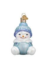 Old World Christmas  Snow Baby Boy