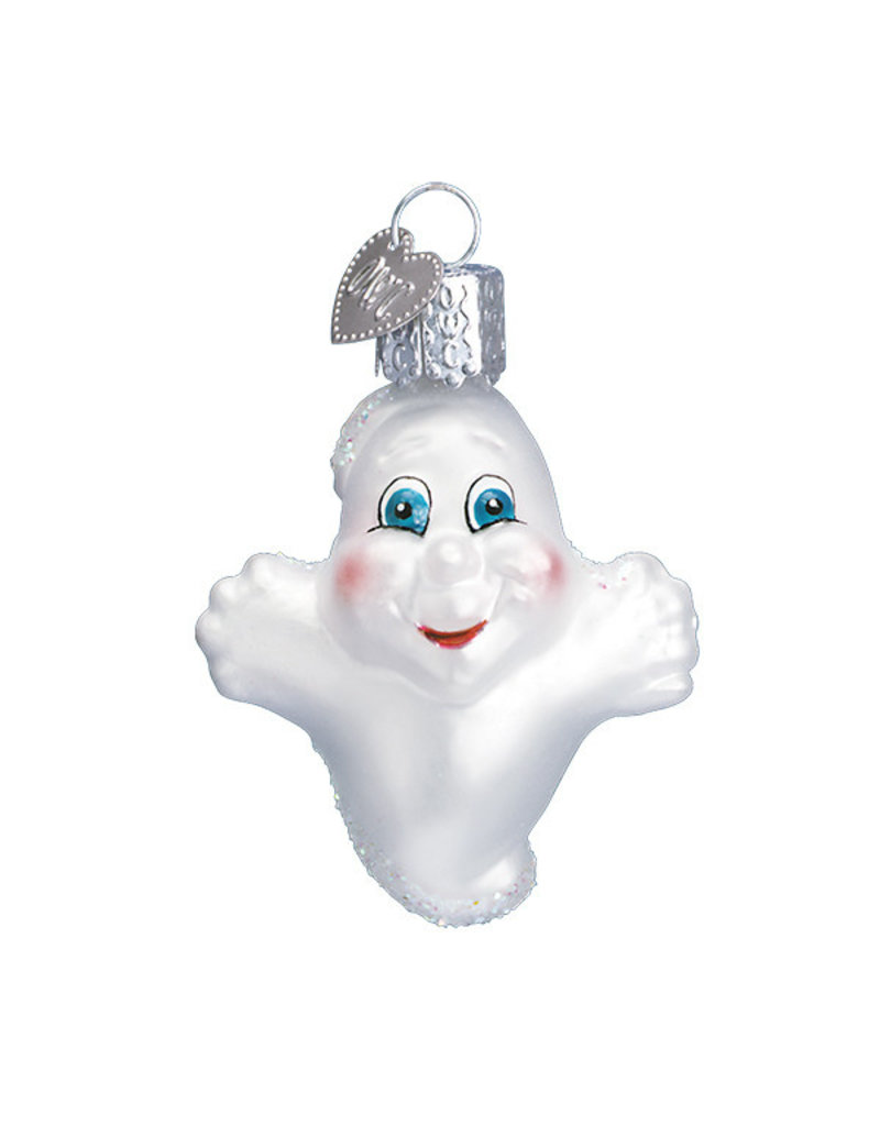 Old World Christmas Miniature Ghost