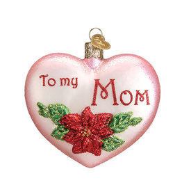 Old World Christmas Mom Heart