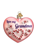 Old World Christmas Grandma Heart