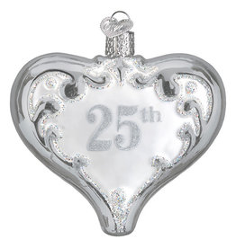 Old World Christmas 25th Anniversary Heart