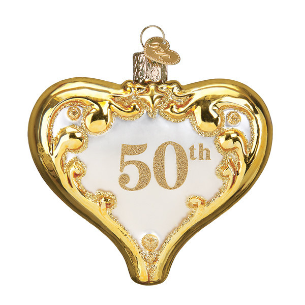 Old World Christmas 50th Anniversary Heart
