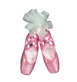 Old World Christmas Pair of Ballet Slippers