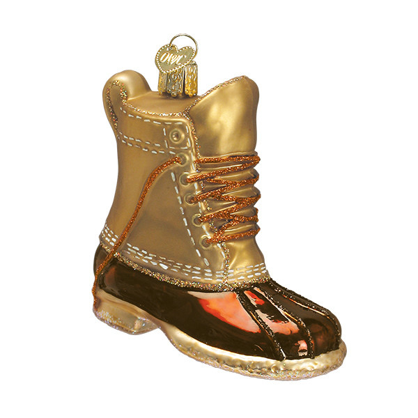 Old World Christmas Field Boot