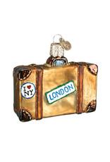 Old World Christmas Suitcase