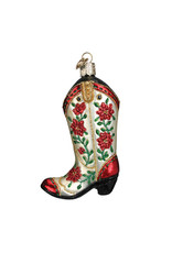 Christmas Cowgirl Boot