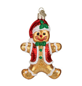 Old World Christmas Gingerbread Boy