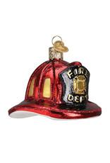 Old World Christmas Fireman's Helmet