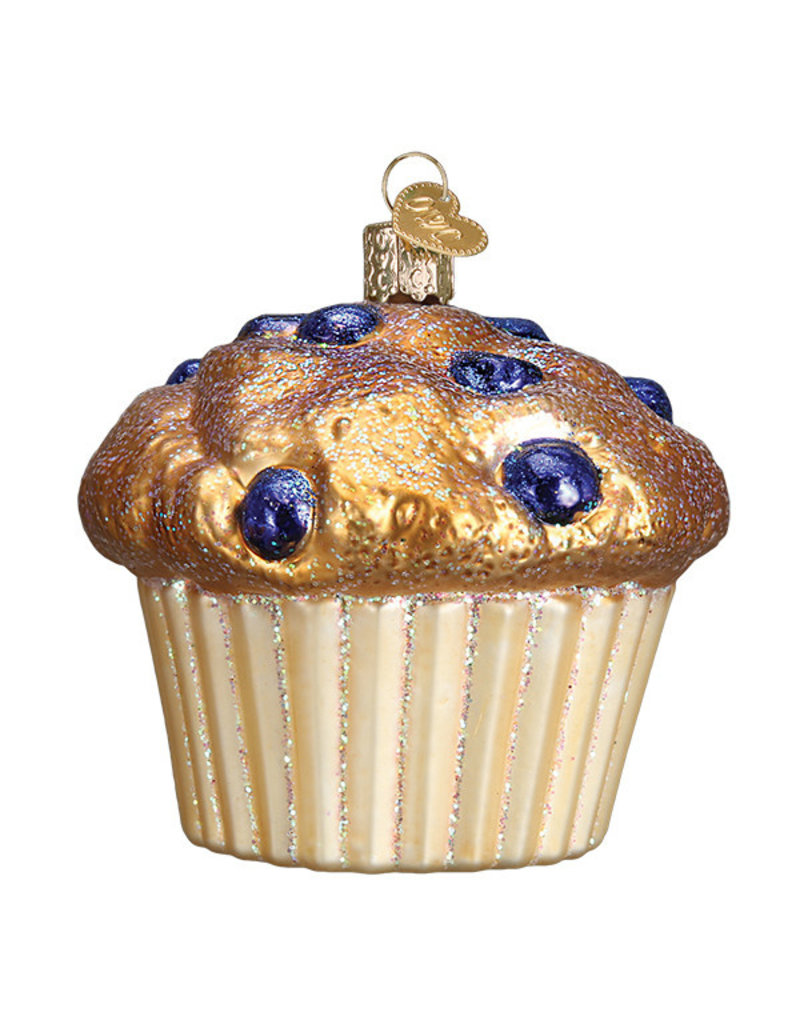 Old World Christmas Blueberry Muffin