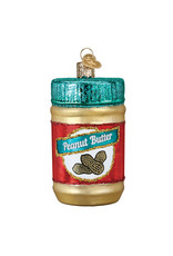 Old World Christmas Jar of Peanut Butter