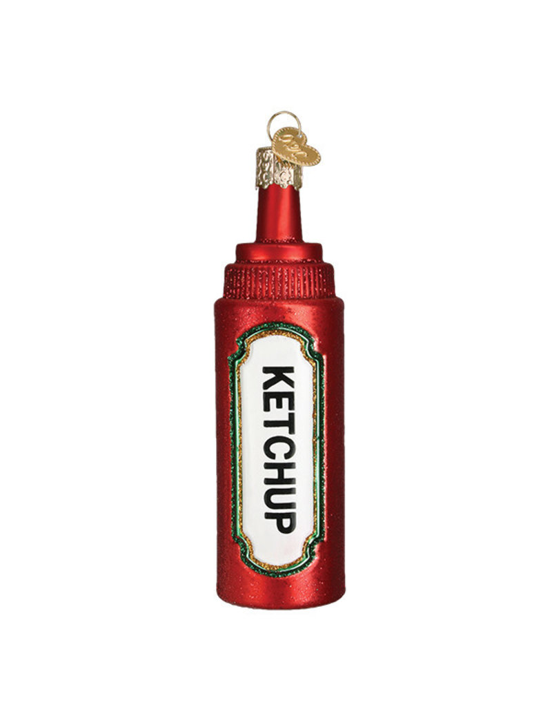 Old World Christmas Ketchup