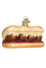 Old World Christmas Meatball Sandwich