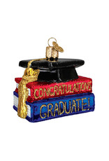 Old World Christmas Congrats Graduate
